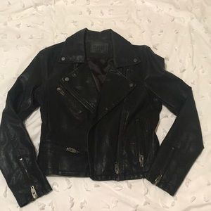 BlankNYC (faux) Leather Moto Jacket Size Small